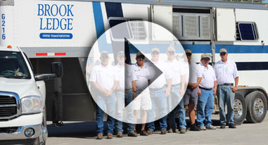 lexington employees with Brook Ledge Truck